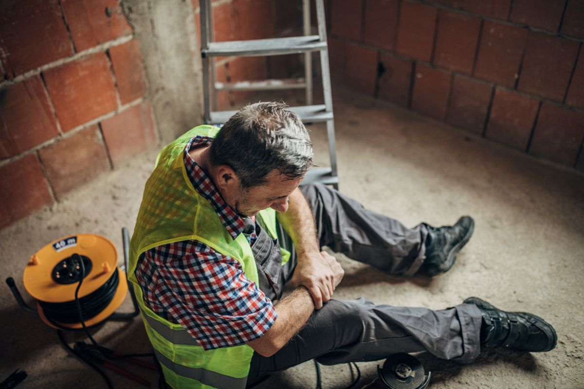 most common injuries on construction sites image 1